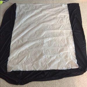 Queen Black Bedskirt